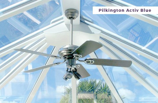 Conservatories - Pilkinton Activ Blue