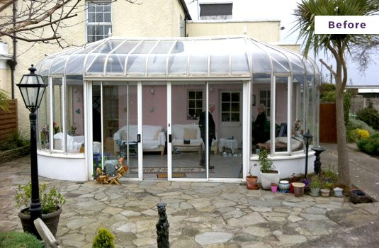 Replace Your Conservatory - Before